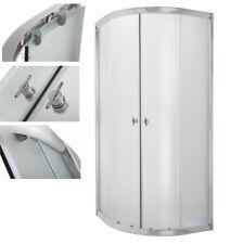 Duschkabine 70x90 80x80 90x100 100x100 Schiebetür Eckeinstieg Echtglas Duschwand