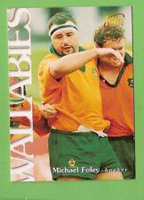 1996 RUGBY UNION  CARD #9 MICHAEL FOLEY, WALLABIES