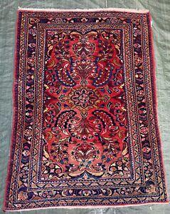 Wunderschöner alter Perser Teppich SAROUGH - LILIAN IRAN 145x107 Orient TOP