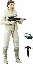 40TH Anniversary 6 Inch Hoth Princess Leia Figure Black Series Star Wars ..LOOSE