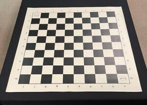 Musketeer Variant Chess Board - Vinyl - 10x10 Square - Black