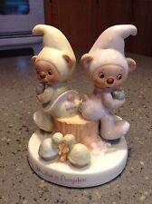 Sleepytime Bears Figurine Wallace Berrie & Co. # 1308  His love is Everywhere