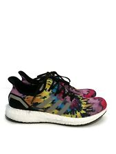 Men's Brand New Adidas AM4ATL Running Sneaker Black Yellow EH1282 Mens Size 9