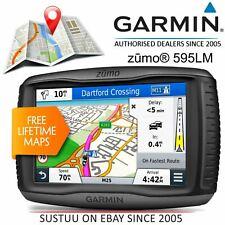 Garmin Zumo 595LM Motorcycle GPS Sat Nav│Lifetime Full Europe Maps│Touchscreen