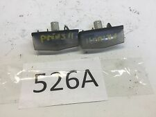 10-15 Toyota Prius Pair Of Rear Trunk Lid License Plate Light Oem D 526A