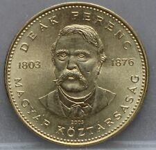 "Hongarije - Hungary -  20 forint 2003 ""Deák Ferenc"" - KM# 768 - nice!"