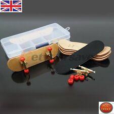 Diapasón de Madera completo de madera de arce dedo skate Board Cinta de espuma de grano