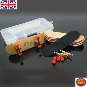 Complete Wooden Fingerboard Maple Wood Finger Skate Board Grit Foam Tape