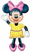 """Disney Mickey Mouse Clubhouse Minnie Mouse 54"""" Airwalker Foil Balloon"""