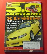 5.0 MUSTANGS & SUPER FORDS MAGAZINE APRIL/2004...XTREME STREET 'STANGS