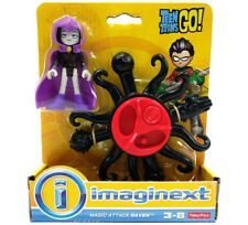Fisher Price Imaginext Teen Titans Go Magic Attack Raven with Power Pad