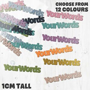 Personalised Confetti! Custom words, colour, name - Shiny card table confetti