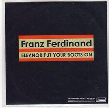 (EQ564) Franz Ferdinand, Eleanor Put Your Boots On - 2006 DJ CD