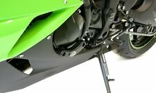 Kawasaki ZX6 R 2009 2010 2011 2012 R&G Racing Left Engine Case Slider ECS0047BK