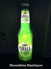 Miller Chill Chelada Style Light Beer Advertising Bar Sign