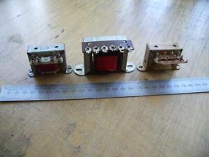 3 Vintage Valve Output Transformers radio/amp ECL86/ECL82........