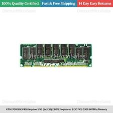 KTM2759SRK2/4G Kingston 4GB (2x2GB) DDR2 Registered ECC PC2-5300 667Mhz Memory