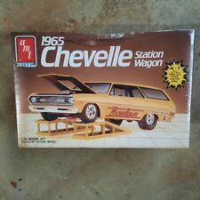Nos Amt 65 Chevelle Station Wagon 4 In 1 Fact Sealed 1/25 W/Orig Price Tag #6505