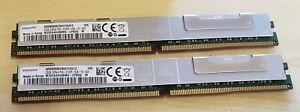 Lot of 2 Samsung M392A4K40BM0-CPB0Q 32GB 2DRx4 PC4-2133P-RJ0 Server Memory VLP
