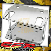 Smooth Polished Billet Al Optima Group 75 25 Battery Tray - Chevy Ford Mopar
