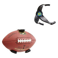 Football Ball Claw Wall Display Holder