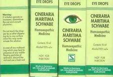 5X10ml Schwabe Cineraria Maritima Eye Drops With Alcohol Made German HERBAL EDH