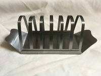VINTAGE 1970s Stainless Steel Toast Rack - 6 Slice