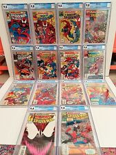 MAXIMUM CARNAGE CGC 9.8 WHITE PAGES **COMPLETE SET** (1-14)