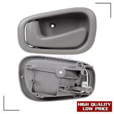 2x For 1998-2002 TOYOTA COROLLA Gray Interior Front Rear Left Side Door Handle