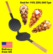 Non-Stick Pan for PUFFLE WAFFLE Maker Professional FY-6 (MOLD QQ EGG BUBBLE)