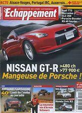ECHAPPEMENT n°490 06/2008 NISSAN GT-R MG super 2000 HONDA CIVIC R3 WRC SARDAIGNE