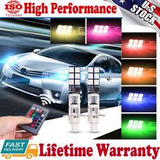 2Pack H1 Led 6000K Thin Flat Headlight Fog Light Beam Lamp Bulbs Bright White
