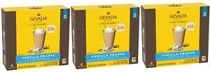 3 Boxes GEVALIA KAFFE Cafe At Home VANILLA FRAPPE Coffee Beverage Mix 8 Packs=24