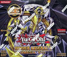 Yu-Gi-Oh! Hidden Arsenal 6 Omega XYZ Sealed 1st Edition Booster Box