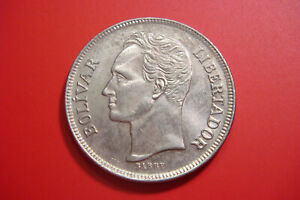 1977 Venezuela 5  Bolivares
