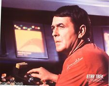 "James Doohan as ""Scotty"" Star Trek The Original Series 8""X10"" Autographed Photo"