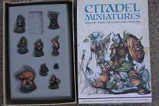 CITADEL BOX SET,WHITE DWARF PERSONALITIES,PRE-SLOTTA,BOXED,PAINTED