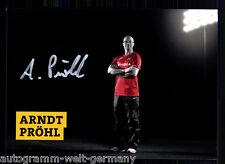 Arndt pröhl dinamo dresde 2013-14 top ak original sign. + a 61478