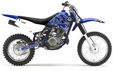 Yamaha TTR 125  Graphics Dirt Bike Graphics KIT By  Enjoy Mfg Flame Kit!