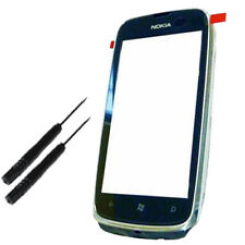 Touch Screen Digitizer Lens With Silver Frame for Nokia LUMIA 610