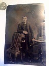 1/4 Plate Tintype Fashing Young Man