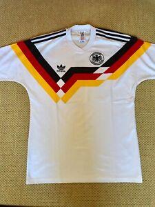 Adidas DFB Trikot 1990 Rarität Deutschland Germany Größe 7/8 Top Zustand