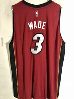 Adidas Swingman 2015-16 NBA Jersey Miami Heat Dwayne Wade Red sz 3X