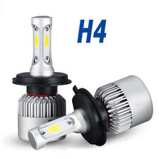 2Pcs H4 9003 200W 20000LM 6000K Car COB LED Conversion Headlight Bulb Hi/Lo Beam