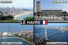 SOUVENIR FRIDGE MAGNET of LE HAVRE FRANCE