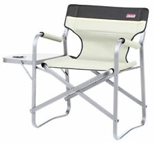 Coleman Deck Chair with Table - 89 x 78 x 53 cm / Khaki