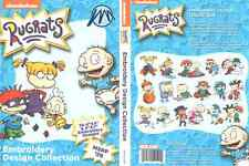 Brother Sanickrr Nickelodeon Rugrats Pes Machine Embroidery Designs Cd