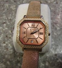 NICE Relic Rose Gold-Tone With Crystal Acc Women's Watch ZR34181