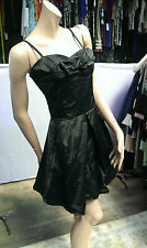 LADIES STELLA LOVELY BLACK  DRESS SIZE M WITH LACE