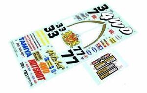 Tamiya Hotshot Sticker and Decal Sheet
